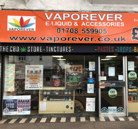 VAPOREVER STORE IN RAINHAM, ESSEX