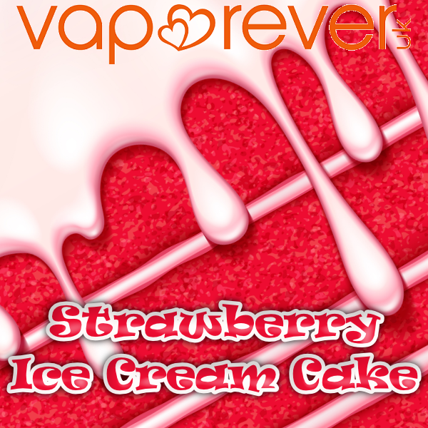 Strawberry Ice-Cream Cake E-Liquid (10ml)